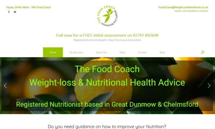 the food coach - nutritionist